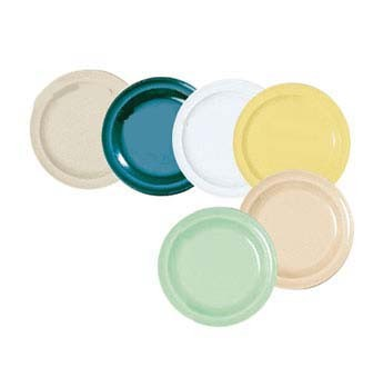 GET Supermel Hunter Green Bread And Butter Round Plate - 5-1/2