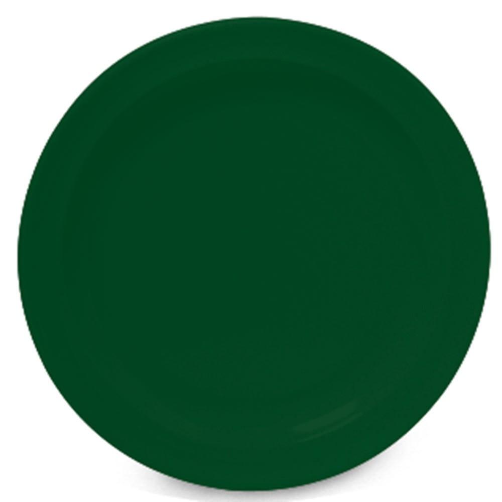 """G.E.T. Enterprises DP-509-HG SuperMel Hunter Green Melamine Round Plate 9"""""""