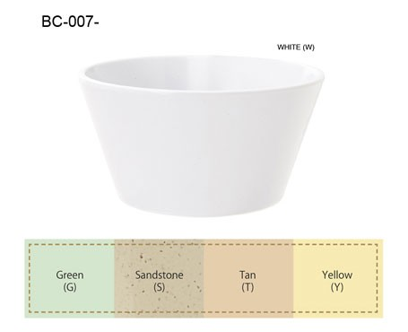 G.E.T. Enterprises BC-007-Y SuperMel Yellow 8 oz. Melamine Bouillon Cup