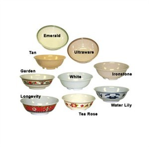 GET Tan 32 Oz. Melamine Bowl - 7-1/2