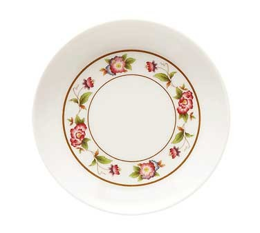 G.E.T. Enterprises M-032-TR Tea Rose 1.5 oz. Round Sauce Dish