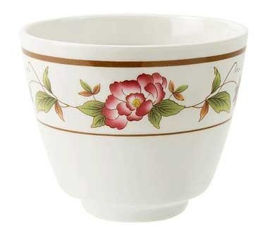 GET Tea Rose 5-1/2 Oz. Melamine Tea Cup - 3