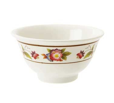 G.E.T. Enterprises M-0161-TR Tea Rose 6 oz. Melamine Sauce Bowl