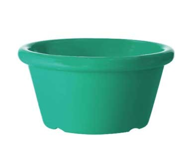 GET Teal Melamine 6 Oz. Cone-Shaped Ramekin - 3-3/4