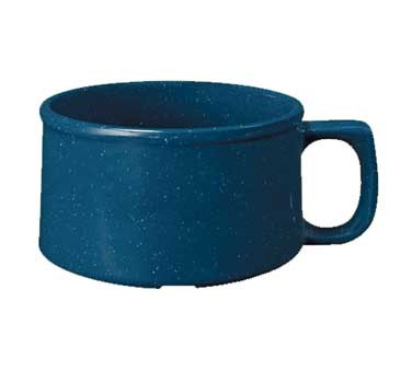 G.E.T. Enterprises BF-080-TB Texas Blue 11 oz. Melamine Mug