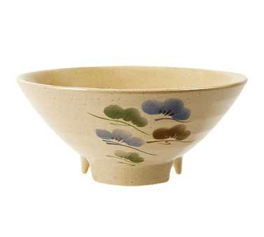 GET Tokyo Japanese 20 Oz. Footed Melamine Bowl - 6-3/4
