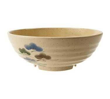 GET Tokyo Japanese 40 Oz. Full Rim Melamine Bowl - 7 3/4