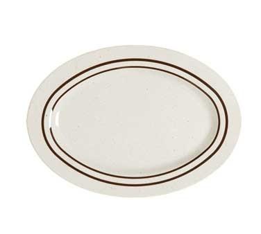 GET Ultraware Melamine Oval Platter - 16-1/4