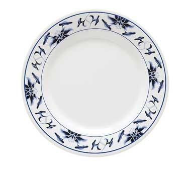 """G.E.T. Enterprises M-5090-B Water Lily Melamine Dinner Plate 10"""""""