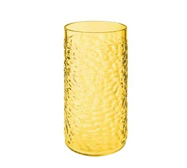 GET Yellow Textured 16 Oz. Drinkware Tumblers