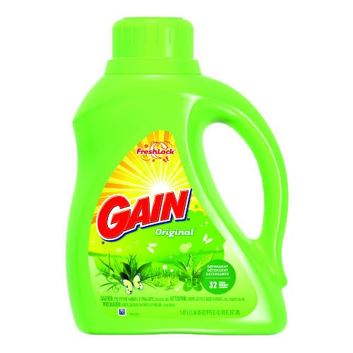 Gain Liquid 2X Original Fresh Detergent, 50 Oz