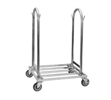 Galvanized Steel Utility Cart With Casters