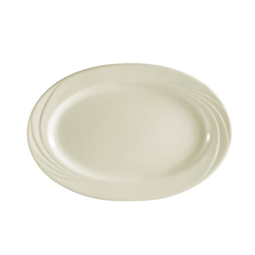 CAC China GAD-14 Garden State Oval Platter, 14""