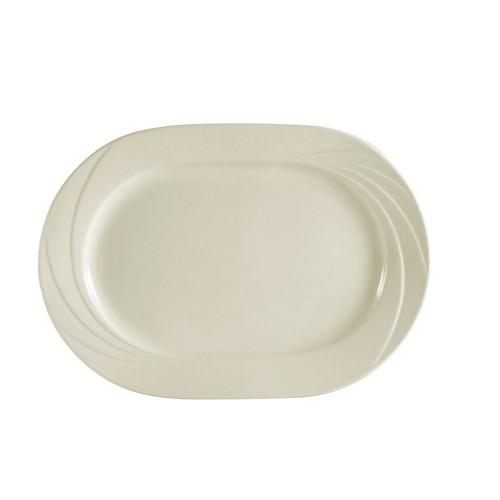 "CAC China GAD-93 Garden State Rectangular Platter, 11 3/4"" x 8 1/2"""