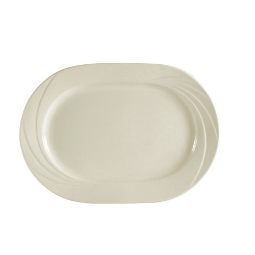 "CAC China GAD-94 Garden State Rectangular Platter, 14"" x 10"""