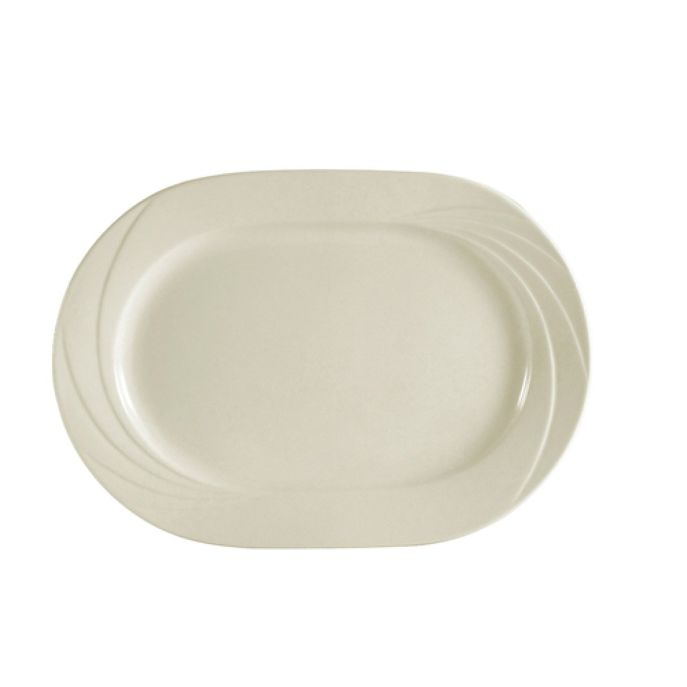 "CAC China gad-93 Garden State Rectangular Platter, 13/4"" x 8 1/2"""