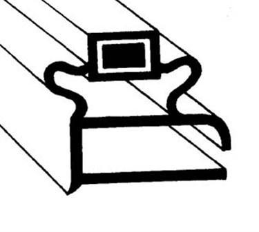 Franklin Machine Products  235-1037 Gasket, Ref (21-3/4X27-1/4)