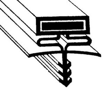 Franklin Machine Products  238-1001 Gasket, Ref (35-5/8X77-3/4, 3Sd)
