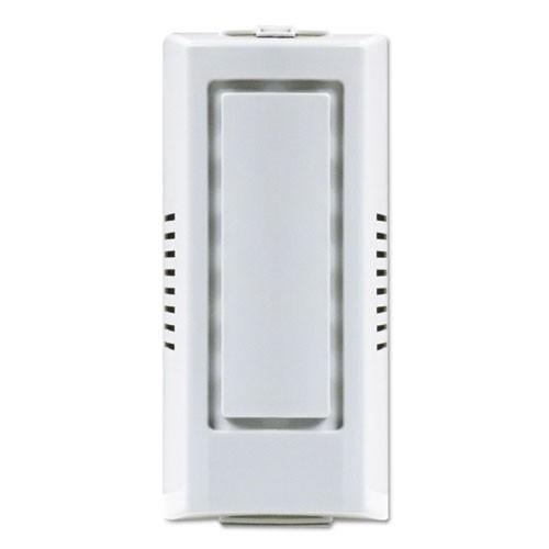 "Gel Air Freshener Dispenser Cabinet, 4"" x 3.5"" x 8.75"", White"