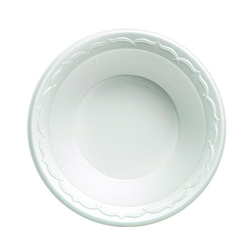 Gen-Pak Corp. Elite 12 Oz Laminated Foam Bowl Foam- White (Box of 1000)
