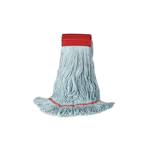 General Purpose Looped Mop, Large, Green, 5