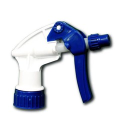 General Purpose Trigger Sprayer, 9 7/8 in, Blue/White