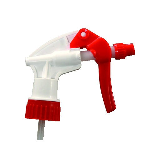 General Purpose Trigger Sprayer, 7 1/2 in, White/Red