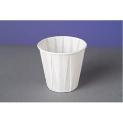 Georgia Pacific/Ft James Paper Drinking Cups, 3 1/2 oz., White, 100/Bag (Box of 2500)