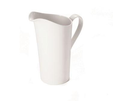 TableCraft PP60 Glacier Collection 60 oz. Porcelain Pitcher
