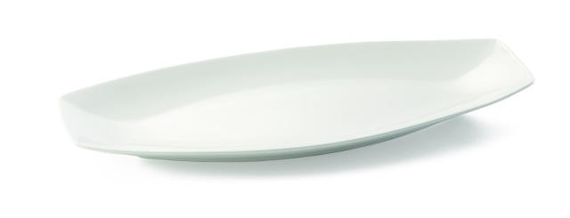 Glacier Collection Rectangular Porcelain Platter - 19-1/2