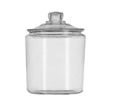 Glass 1 Gallon Heritage Hill Jar w/Cover
