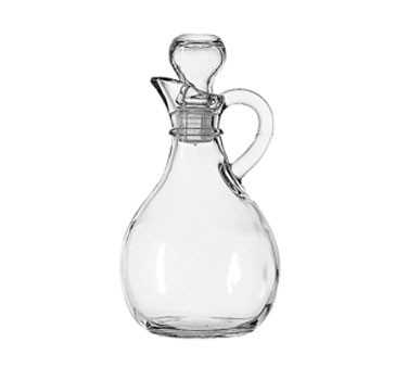 Anchor Hocking 980R 10 oz. Presence Glass Cruet with Stopper