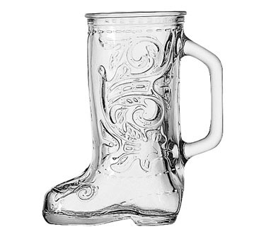 Glass 12.5 oz. Boot Mug