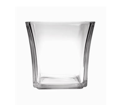 Glass 12 oz. Flare Square Votive