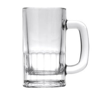 Glass 14 oz Beer Mug