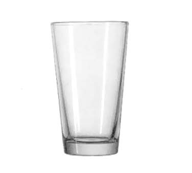 Anchor Hocking 176fU 16 oz. Clear Mixing Glass