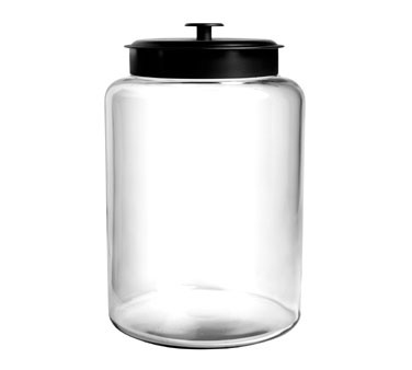 Anchor Hocking 88908  2.5 Gallon Montana Glass Jar with Metal Cover
