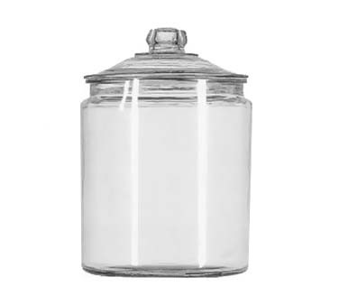 Glass 2 Gallon Heritage Hill Jar w/Cover