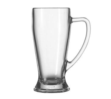 Glass 22 oz. Bavarian Handled Beer Mug