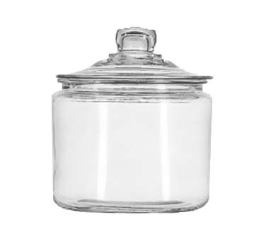 Glass 3 Quart Heritage Hill Jar w/ Cover