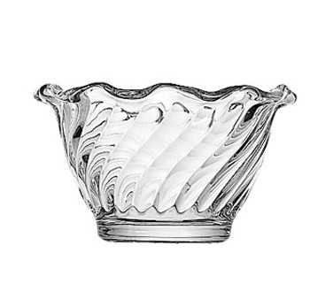 Glass 5 oz. Waverly Sherbet Dish