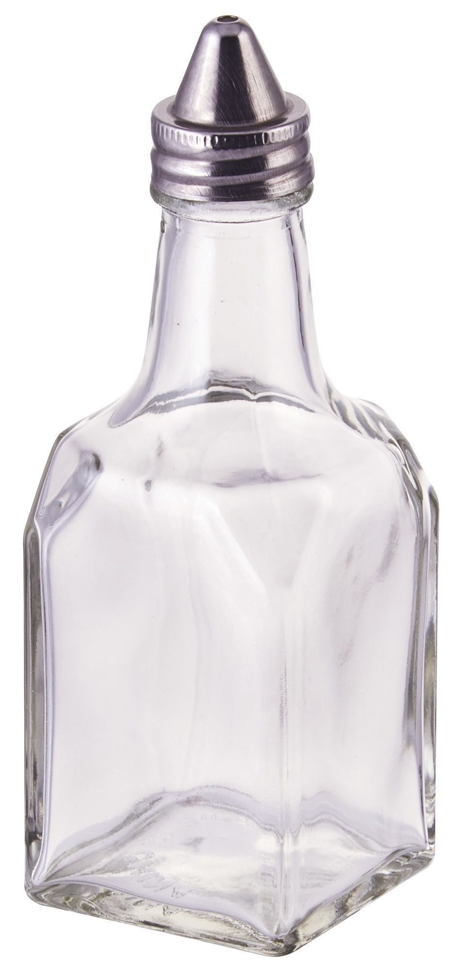 Winco G-104 Glass 6 oz. Oil and Vinegar Cruet