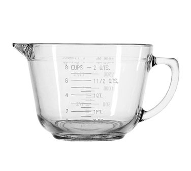 Anchor Hocking 81605E  64 oz.  Essentials Batter Bowl