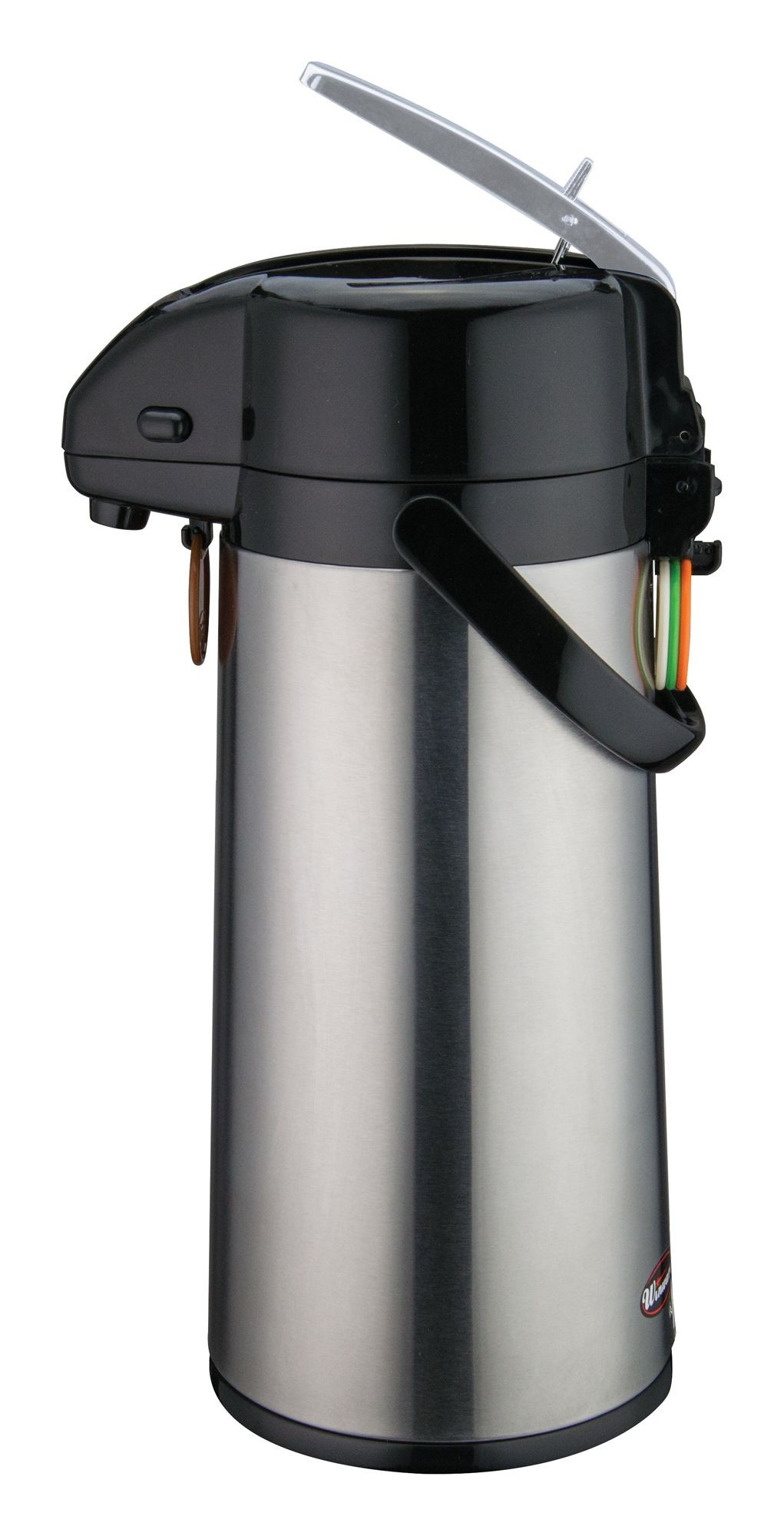 Winco AP-822 Vacuum Server with Glass-Lined Steel Body with Lever-Top 2.2 Liter