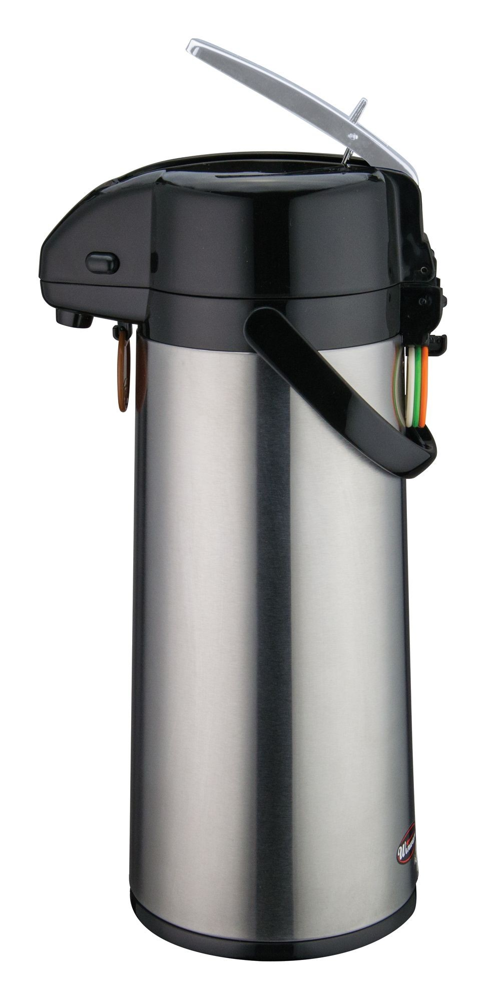 Winco AP-825 Vacuum Server with Glass-Lined Steel Body with Lever Top 2.5 Liter