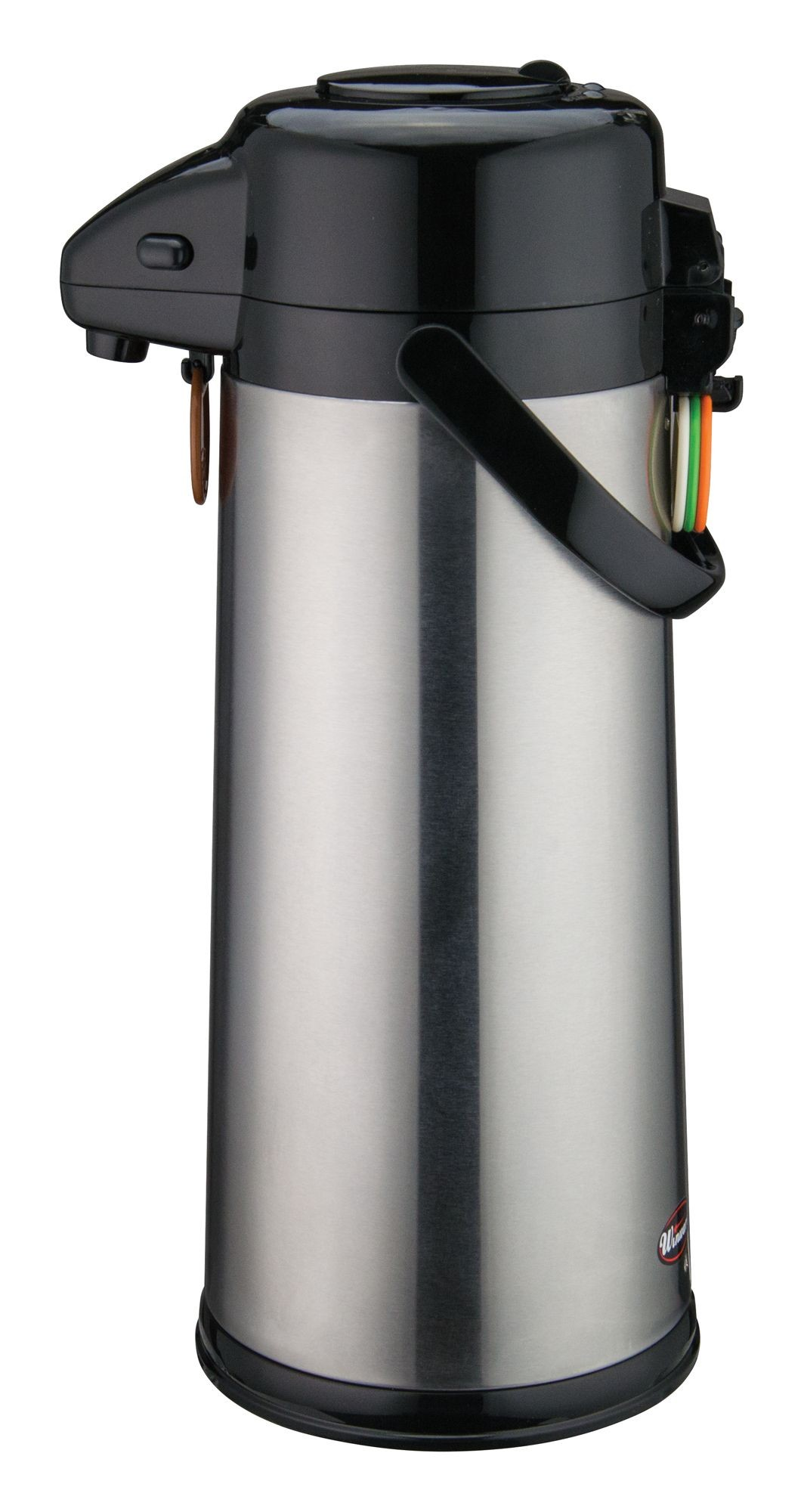 Winco AP-535 Vacuum Server with Glass-Lined Steel Body with Push Button 3.0 Liter