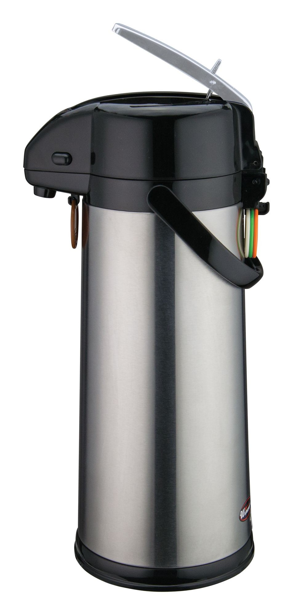 Winco AP-835 Stainless Steel Glass Lined Vaccum Server with Lever Top 3.0 Liter