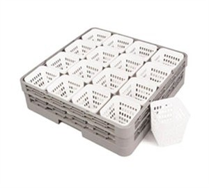 Crestware RCH Square Dishwasher Rack Cutlery Holder