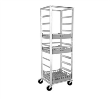 "Franklin Machine Products  133-1338 Glass/Tray Rack Cart 69""H x 23""W x 20""D"