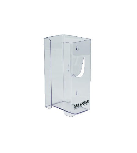 Glove Dispenser 5.5 X 10 X 3.75, Plexiglas, Clear